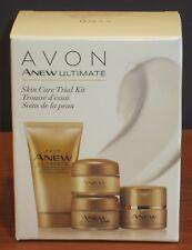 Avon Anew Ultimate Skincare Set Trial Kit Day Night Eye Cream Cleanser NIB