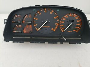 Mazda Rx7 Series 4 5 Dash Cluster Speedo 174xxx kms