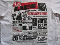 GUNS N ROSES  Lies  - T-shirt custom materiale tessile Vintage Originale