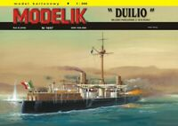 "GENUINE PAPER-CARD MODEL KIT - ""DUILIO"" Format A3"