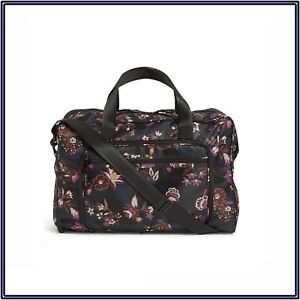 NWT Vera Bradley Packable Weekender Carry-On Travel Bag in Garden Dream