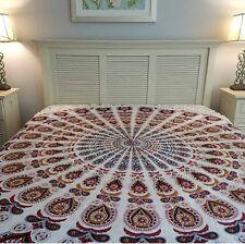 "Indian Mandala Round Fringes 72"" Yoga Mat Wall Hanging Beach Throw Tapestry"