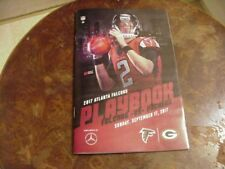 2017 Atlanta Falcons vs Green Bay 1st Mercedes-Benz Stadium Game Program-Sunday