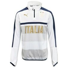 Superbe Sweat 1/4 zip Training Top PUMA Figc Italie  neuf taille : XL val: 70€