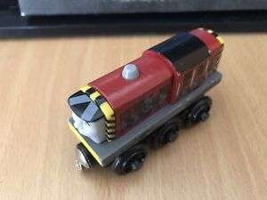 Authentic Learning Curve Wooden Thomas Train Dirty Salty!