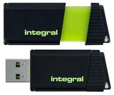 Integral - INFD128GBPULSEGR - Pulse Usb 2.0 Flash Drive, 128gb Green