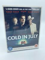 Cold in July Blu-Ray (2014) Michael C. Hall Movie - Brand New And Sealed