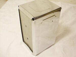"""Vtg Table Craft Diner Napkin Dispenser Metal Chrome Holder Box 3.5""""x7"""" Dispenser"""