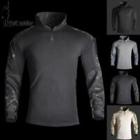 Tactical Military Mens Long Sleeve SWAT G3 Army Combat Shirt Gen3 Casual T-Shirt