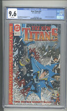 "NEW TITANS #61   CGC  9.6    ""BATMAN & NIGHTWING COVER"""