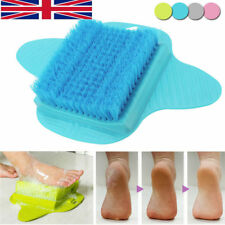 Bath Foot Cleaner Scrub Brush Exfoliating Feet Scrubber Washer Spa Shower