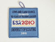 Lewis & Clark Council 100 Years of Training Leaders 2010 Boy Scout Patch