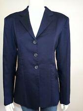 Equine Athletics Blue Womens 10 Tall Hunt Show Jacket Blazer Equestrian Dressage