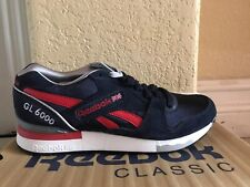 newest a7c23 5819a Reebok Classic GL 6000 Navy Blue Red White Mens Sz 8 New V55224