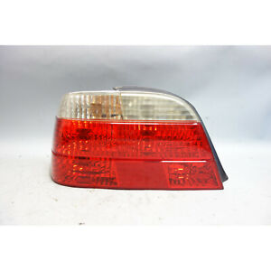 Damaged 1999-2001 BMW E38 7-Series Left Rear Driver's Tail Light Lamp White OEM