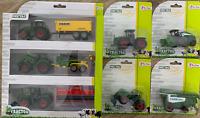 Mega Trecker Traktor Mähdrescher Set Landwirtschaft Spielzeug 7 Fahrzeuge