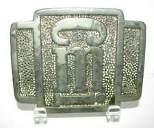 CMI Terex Corporation Construction Machinery & Equipment Mfg PEWTER Belt Buckle