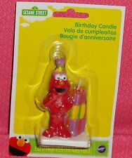 Elmo Birthday Cake Candle,Gifts,Sesame Street,Multi-Color,Wilton,Wax Party
