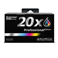20x Eurotone PRO Patrone für Epson Stylus D-120 DX-6000 SX-100 SX-515-W DX-5500