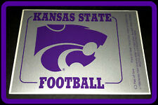 1989 KANSAS STATE WILDCATS FOOTBALL STICKER SCHEDULE FREE SHIPPING