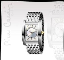 PIERRE CARDIN Men's Watch pc101301f01 in acciaio inox analogico con visualizzazione data