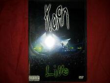 KORN - LIVE AT THE HAMMERSTEIN, N.Y.C. DVD.