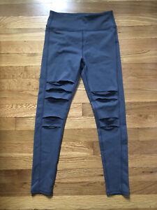 Zella Girls Gray Leggings Size 10/12 size large
