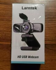 LarmTek Webcam with Microphone Support for PC Laptop Mac