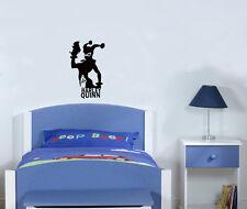 Harley Quinn Superhero Kids Children's Hall Bedroom Decal Wall Sticker Picture