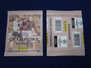 Panini Champions League CL 2000/01 2001,La Finale the final,packet/Tüte/bustina