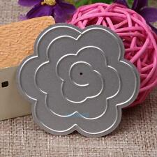 3D Flower Metal Cutting Dies Stencils DIY Scrapbook Album Paper Cards Craft NEW