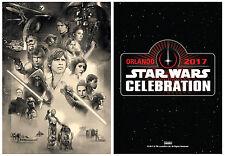 STAR WARS CELEBRATION 2017 - Orlando Promo Card