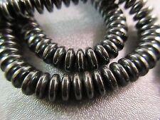 Hematite Roundel 6mm Beads 128pcs