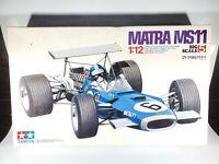 Tamiya Matra MS11 1968 British GP 1/12 Formula 1 F1 Model Car Kit Open Box