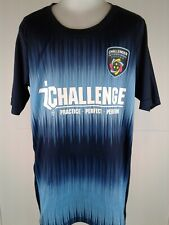 Youth challenger international soccer blue Ss shirt youth shirt size L