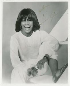 Tina Turner- Vintage Signed Photograph