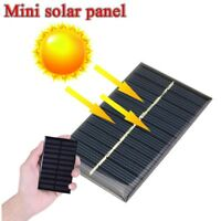 Protable 5V 1.25W DIY Battery Solar Panel Cell Phone Charger Power Module Bank