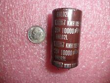 10000uf 35V 20% Snap in Aluminum Electrolytic Cap KMH35VN103M25X45T2  (Lot of 1)