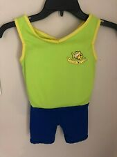 Swim School Toddler Float Suit  Yellow & Blue