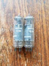 VINTAGE PAIR OF SIEMENS EL84/6BQ5 VACUUM TUBES