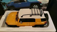 Autoart 1:18 FJ Cruiser Yellow Diecast