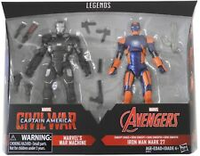 "🎁 ""MINT* Marvel Legends WAR MACHINE IRON MAN MARK 27 action figure 2-pack 🎁"