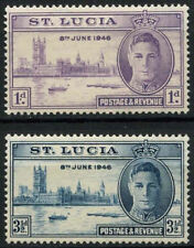 Mint Hinged St Lucia Stamps Postages