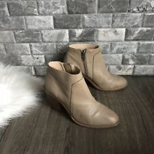 Loeffler Randall Womens Ella Pebbled Leather Bootie Ankle Boot Sz 7.5