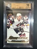 2015-16 Upper Deck Max Domi Young Guns Canvas Rookie BGS 10 Pristine