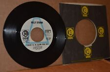 BOB DYLAN REL.: BILLY STORM; TONIGHT I'LL BE STAYING HERE WITH YOU; MINT- WLP 45