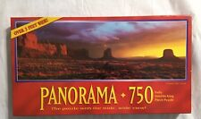 Milton Bradley Panorama 750 Pc Jigsaw Puzzle Monument Valley Arizone 1994 MB USA