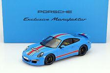 Spark 2014 Porsche 911 (991) Carrera S Martini Mit Vitrine Baujahr 1:18 Dealer