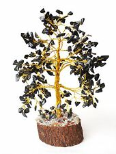 *SALE CLEARANCE* REIKI ENERGY CHARGED BLACK AGATE GEMSTONES CRYSTALS TREE GIFT