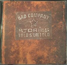 Stories Told & Untold - Bad Company (CD 1996)